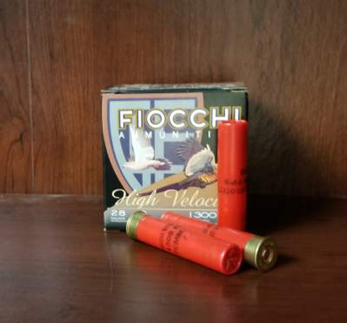 "Fiocchi 28 Gauge Ammunition 283HV5 3"" #5 Chilled Lead Shot 1oz 1300fps 250 Rounds"