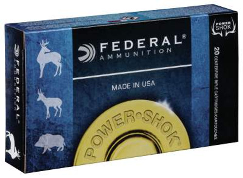 Federal 6.5 Creedmoor Ammunition Power-Shot 65CRDB 140 Grain Jacketed Soft Point Case of 200 Rounds