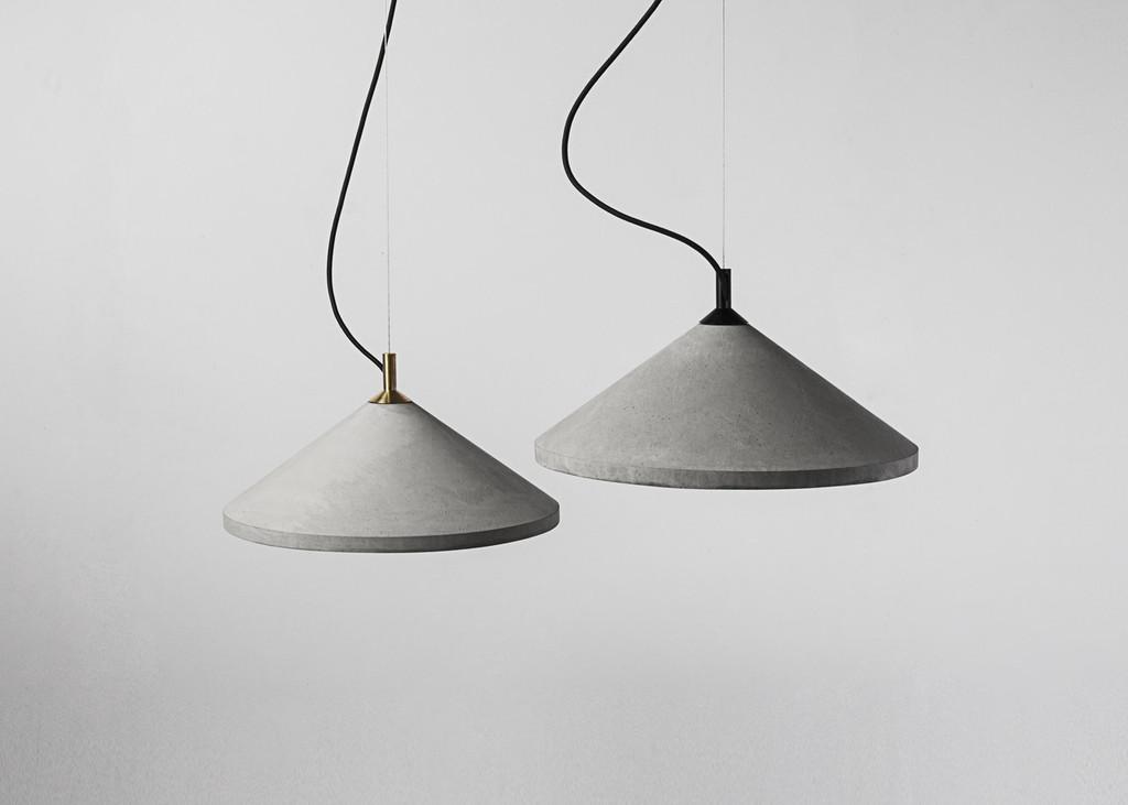 Ren Pendant Lamp - Gold Top