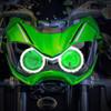 2017 Kawasaki Z900 headlight