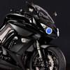 2013 Ninja 1000 headlight