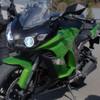 2014 Kawasaki Ninja 1000 headlight