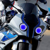 2014 BMW S1000RR headlight assembly