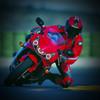2002 Honda CBR954RR headlight