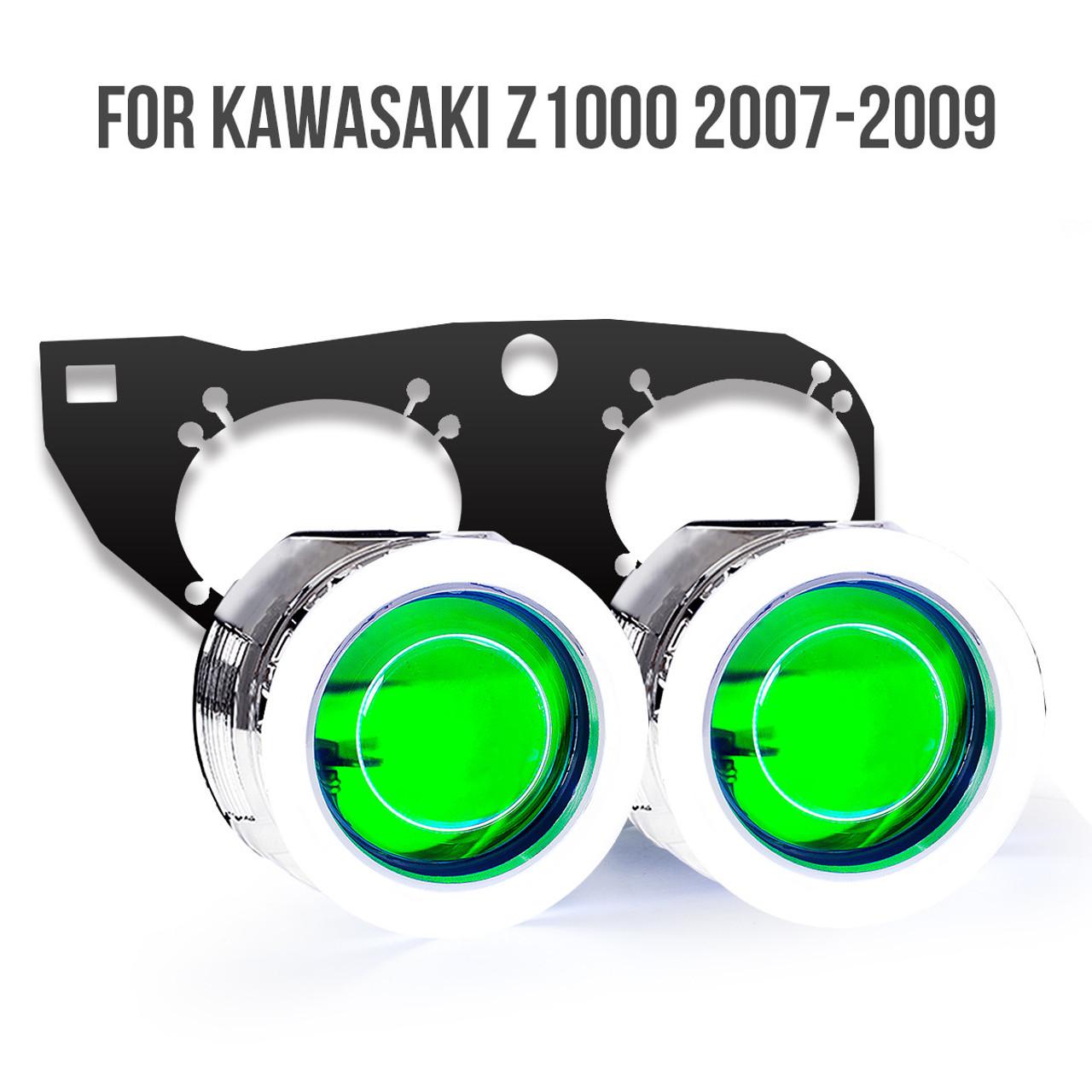 Kawasaki Z1000 Hid Projector Kit 2007 2008 2009 Wiring Diagram