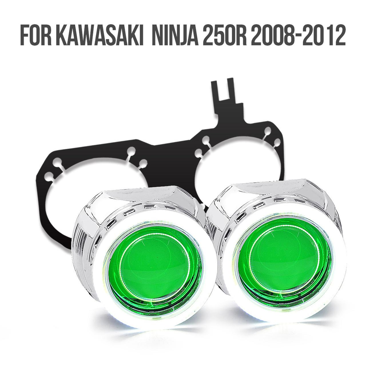 Kawasaki Ninja 250r Hid Projector Kit 2008 2009 2010 2011 2012 Wiring Harness Diagram