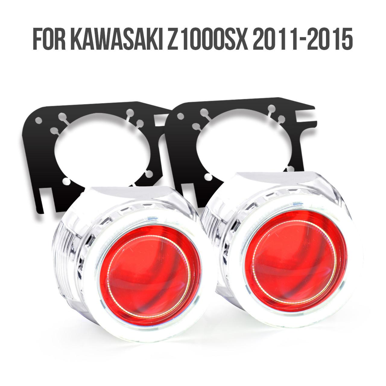 Kawasaki Ninja 1000 Hid Projector Kit 2011 2012 2013 2014 2015 2016 250 Wiring Harness