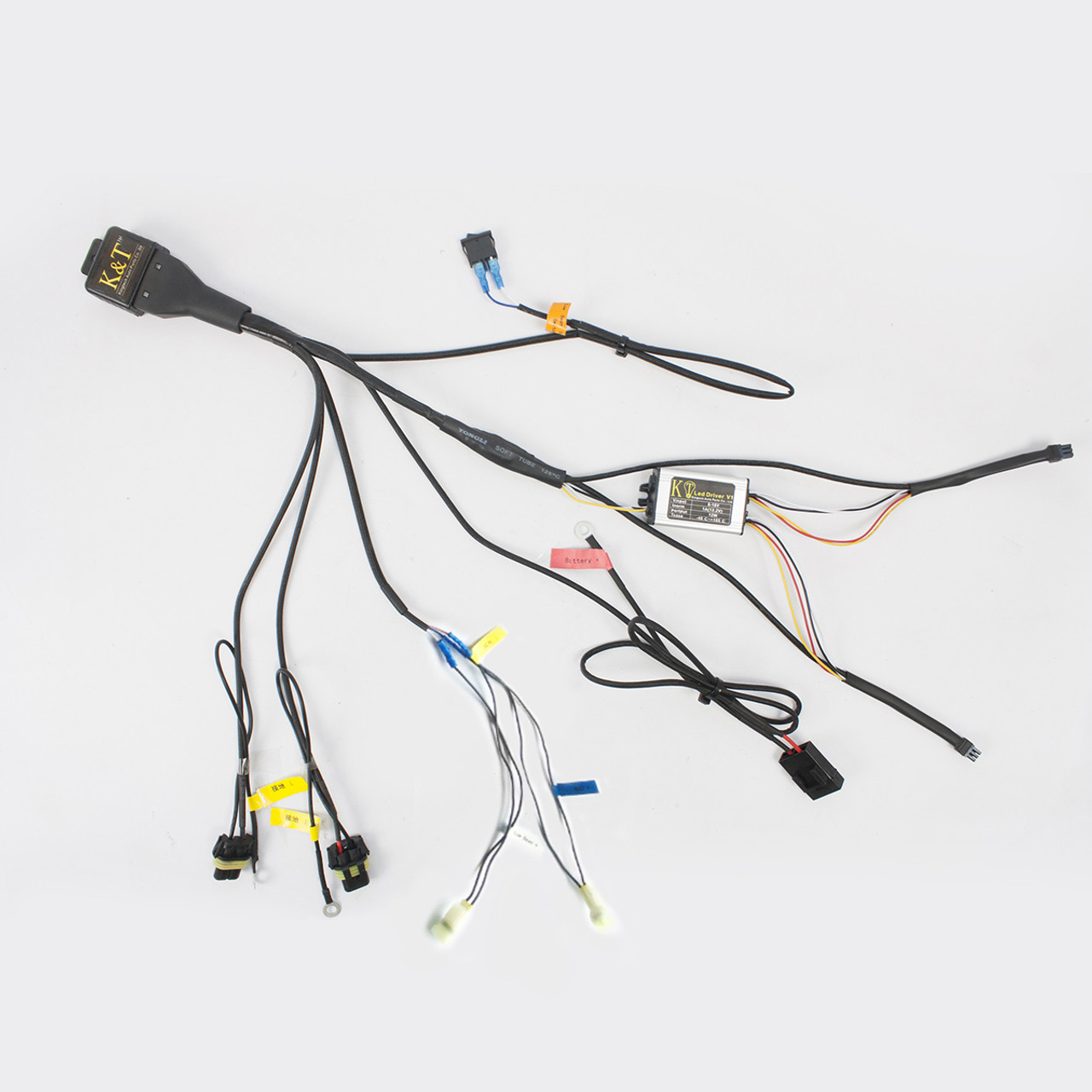 Tailormade Relay Wiring Harness For Kt Honda Custom Headlight. Tailormade Relay Wiring Harness For Kt Honda Custom Headlight. Wiring. Relay Wire Harness At Scoala.co