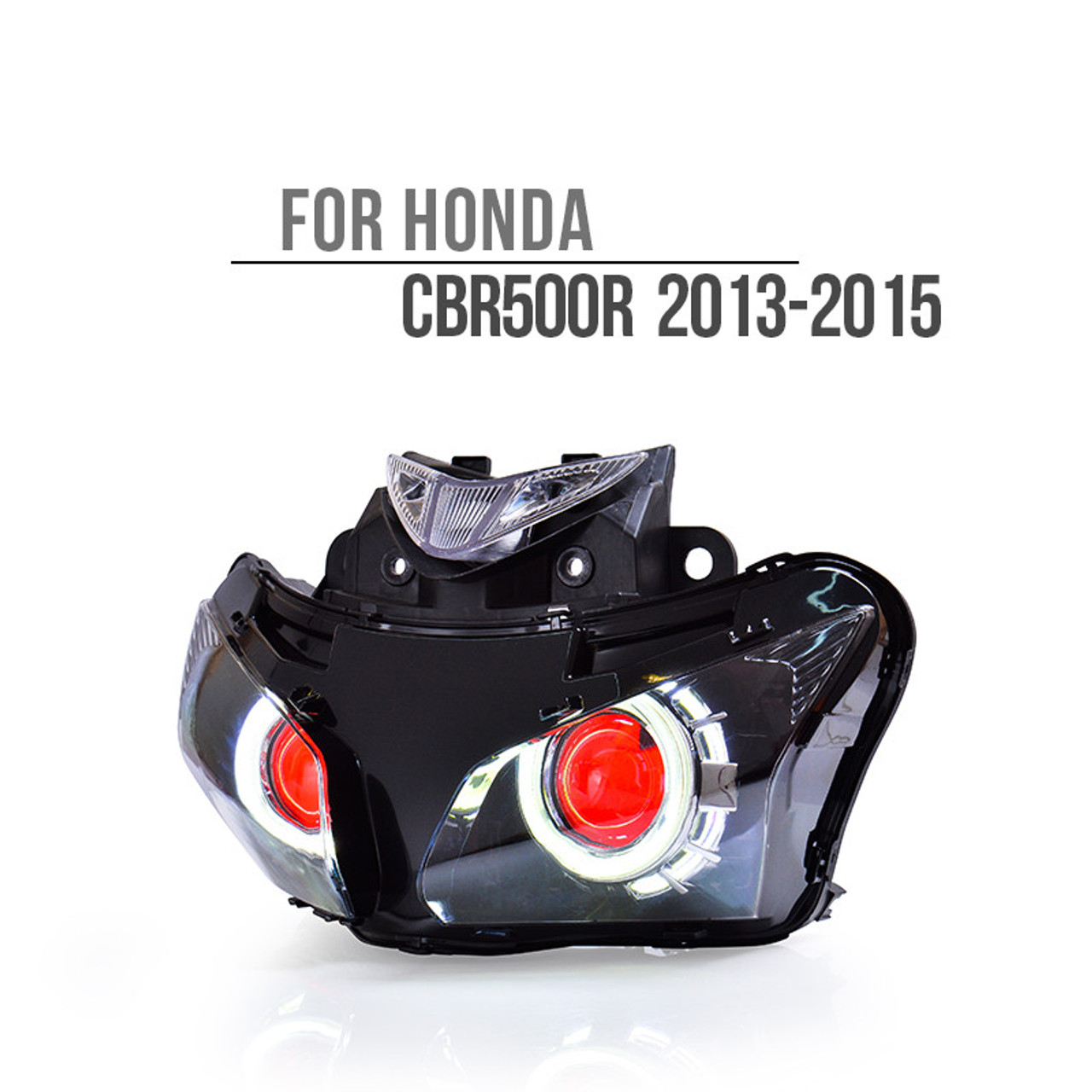 Honda Xr125l 2003 2013 Review: Honda CBR500R LED Headlight 2013 2014 2015