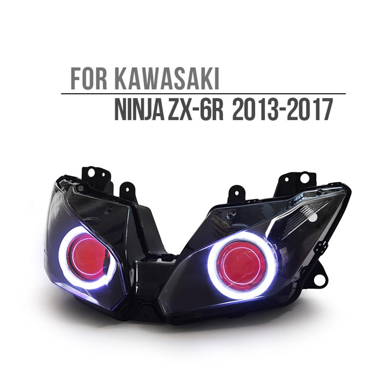 kawasaki ninja zx6r headlight 2013 2014 2015 2016 2017 rh ktmoto com