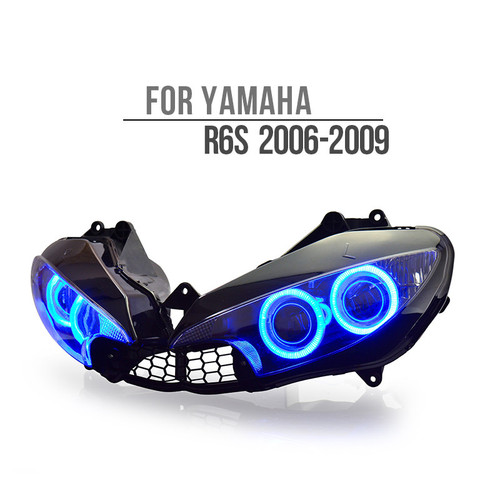 2006 yamaha r6s headlight