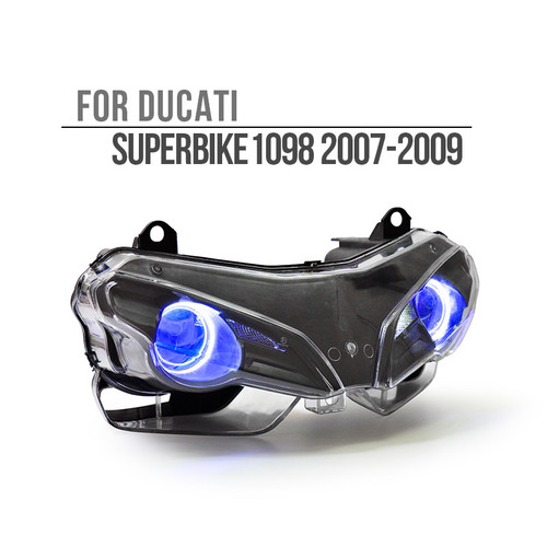 2007 2008 2009 Ducati Superbike 1098 headlight