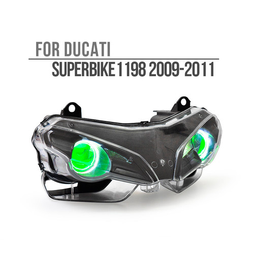 2009 2010 2011 Ducati Superbike 1198 headlight