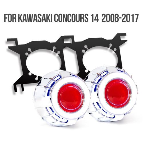 Kawasaki Concours14/1400GTR/ZG1400 2008-2017 projector kit