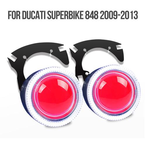 2008 2009 2010 2011 2012 2013 Ducati Superbike 848 projector