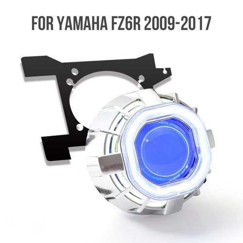 2009 2010 2011 2012 Yamaha FZ6R HID projector