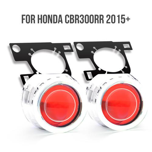 2016 honda cbr300r projector