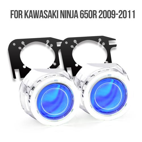 2009 Kawasaki Ninja 650R HID projector kit