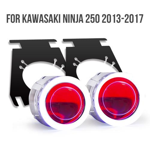 2013 2014 2015 2016 2017 Kawasaki Ninja 250 projector