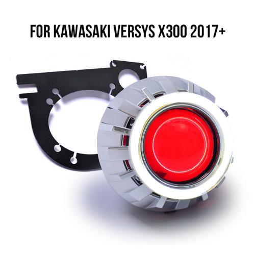 2017+ Kawasaki Versys X300 projector