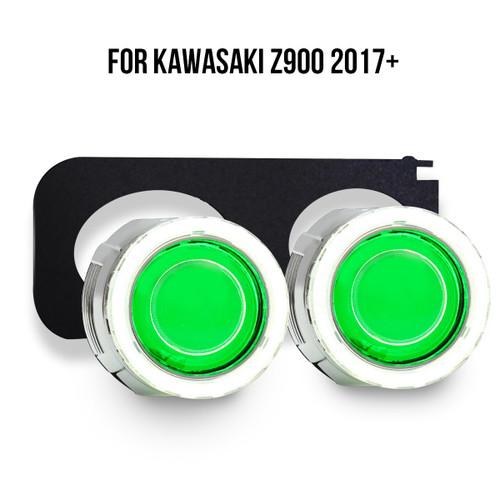 2017 2018 Kawasaki Z900 projector