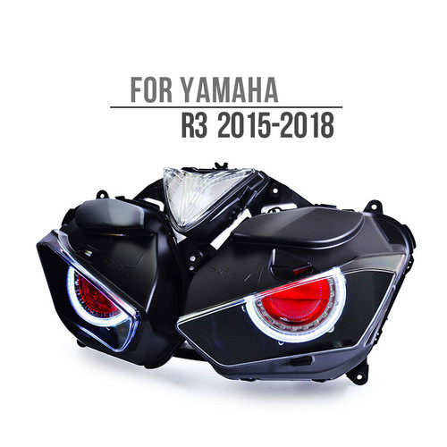 2015 2016 2017 Yamaha R3 full LED headlight