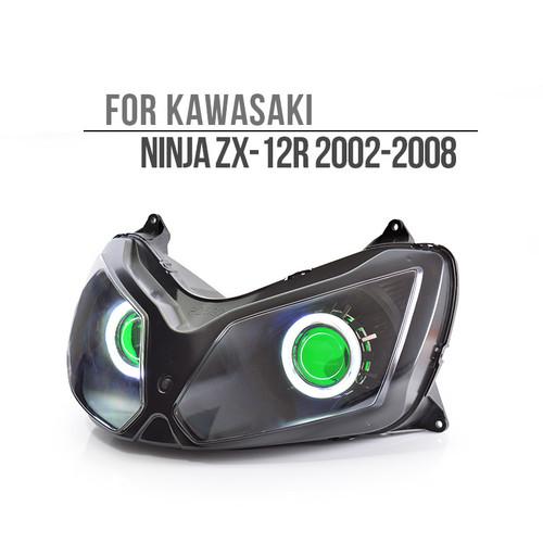 2002 2003 2004 2005 2006 2007 2008 Kawasaki Ninja ZX12R headlight