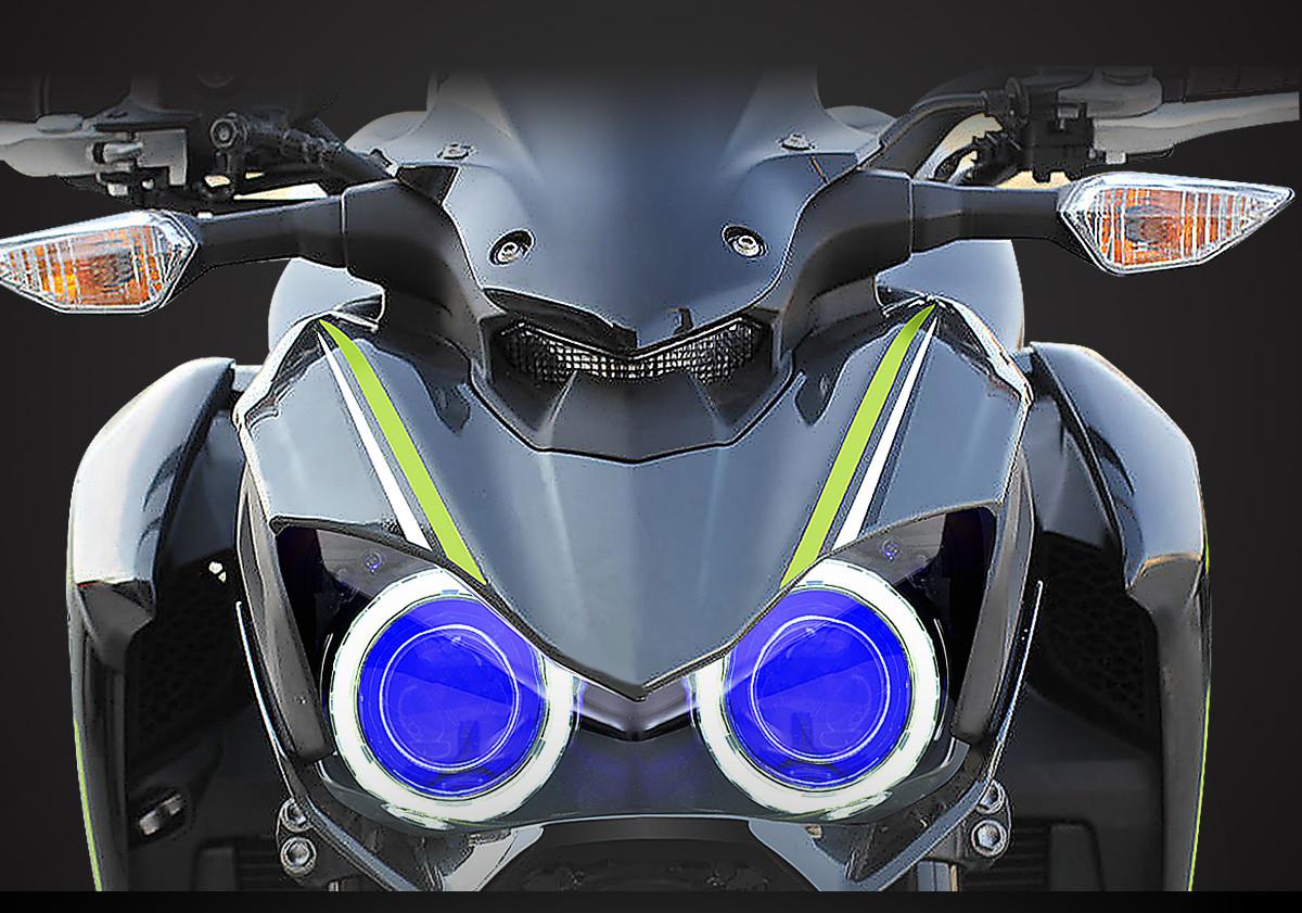 kawasaki z900 headlight 2017
