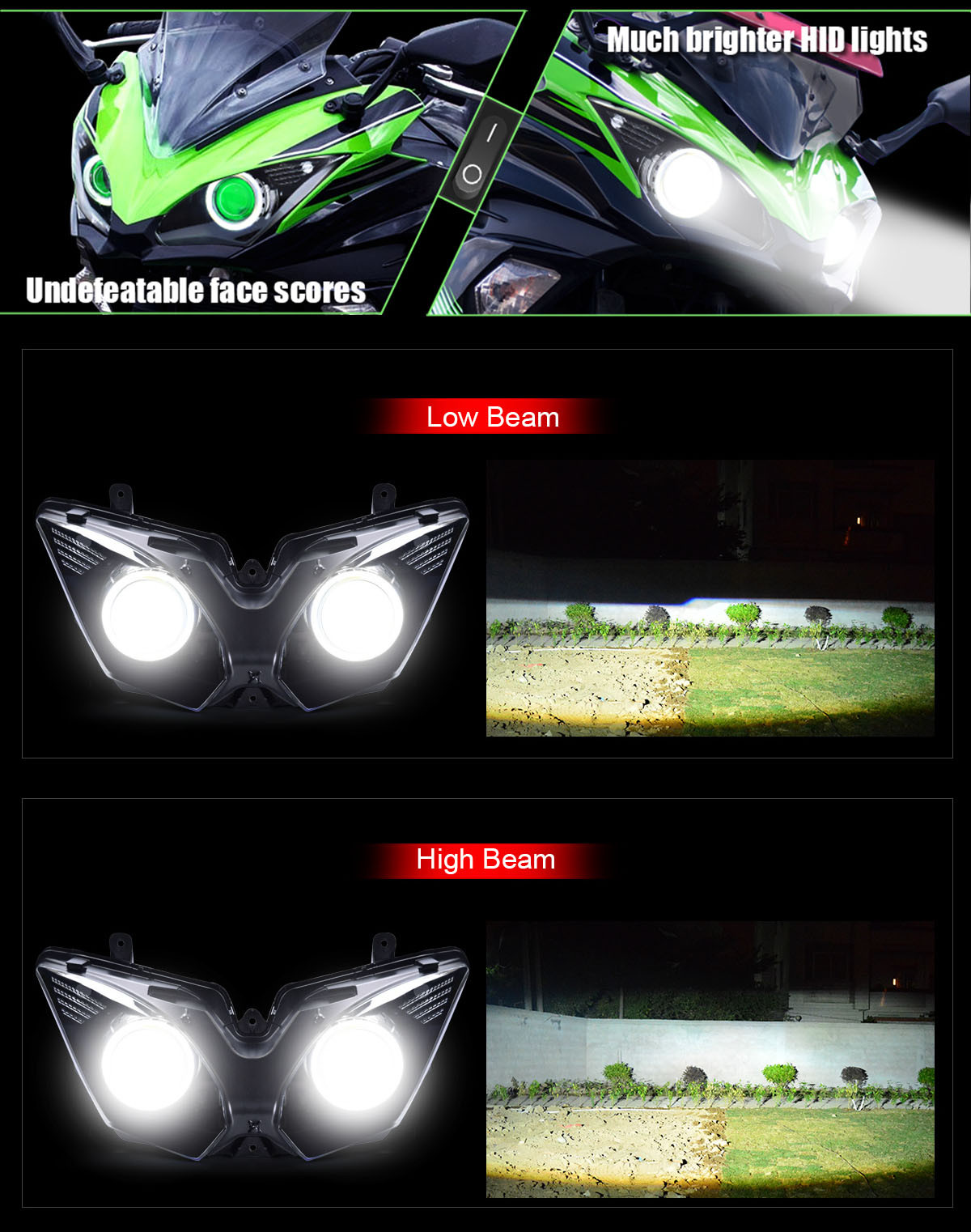 Kawasaki Ninja 650 Headlight Assembly 2017 2018 650r Wiring Harness Ninja650