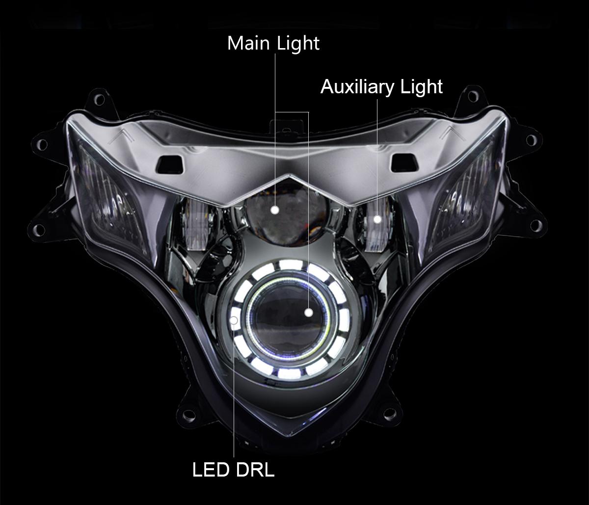 Suzuki GSXR1000 LED Headlight 2009-2016