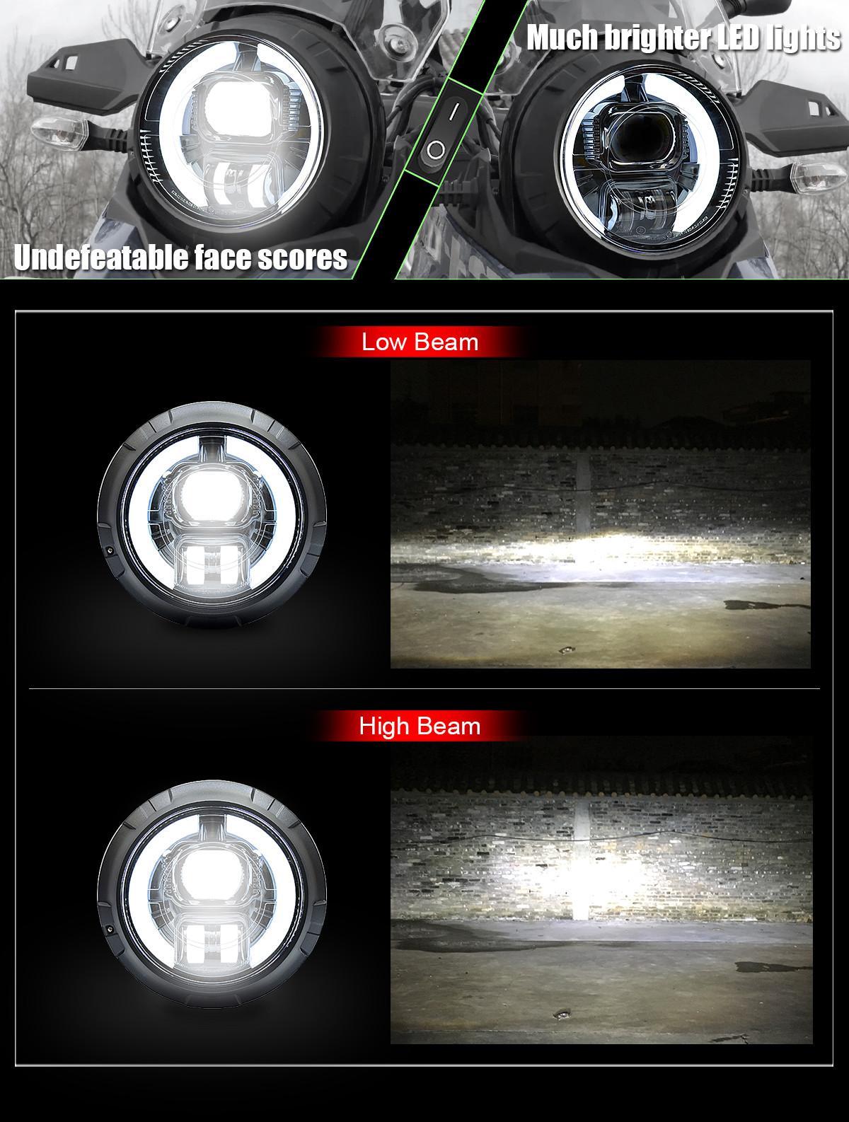 2017+ dl250 headlight