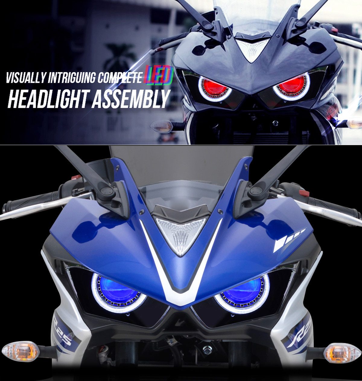 yamaha led headlight