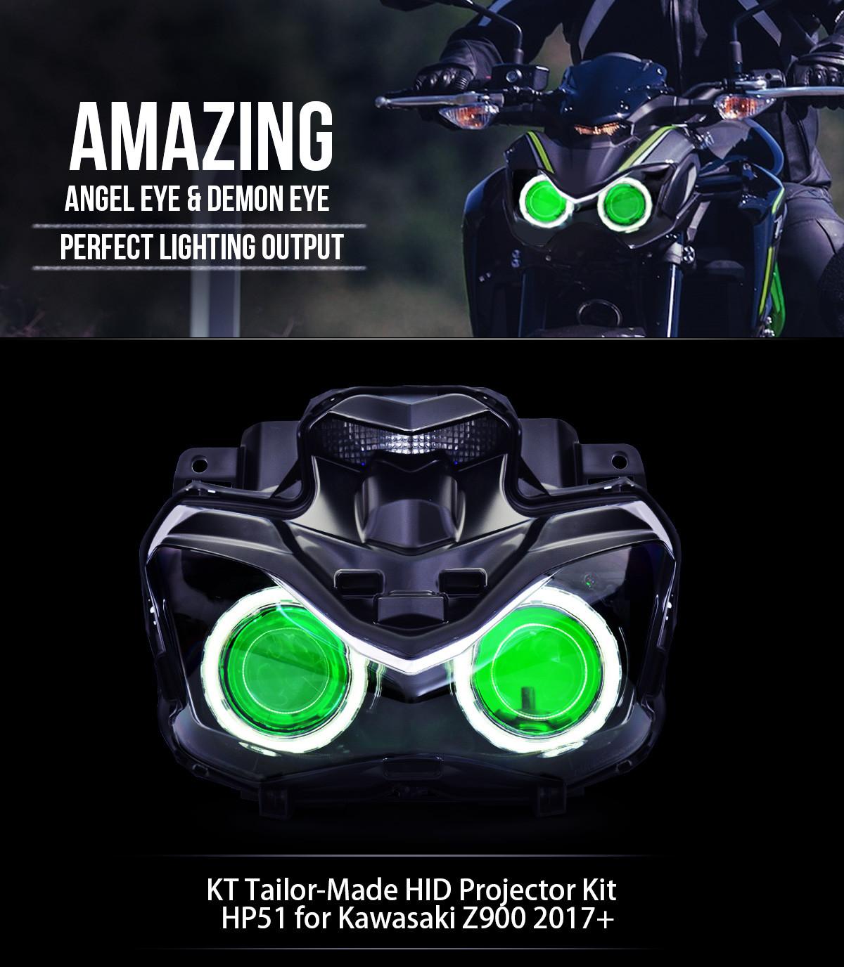 2017 kawasaki z900 projector