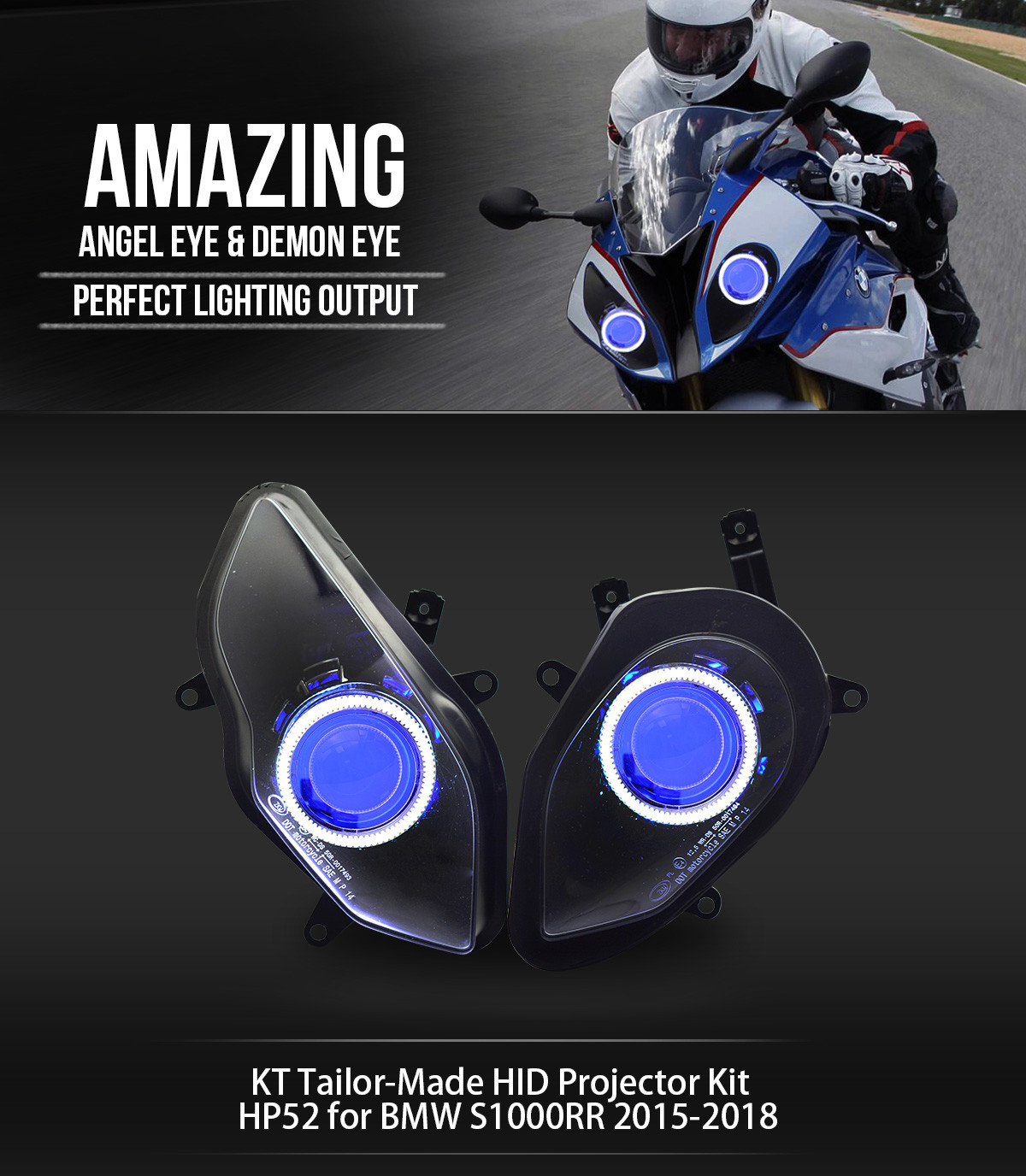 BMW S1000RR Projector 2015 2016 2017 2018