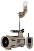 Lucky Duck Riot Digital Remote Controlled Predator Call, with Built-In Motorized Decoy 21-20018-6