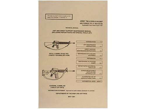 us army technical manual rifle 5 56 mm m16a2 carbine m4 tm9 1005 rh allpredatorcalls com Us Marine Corps Us Marine Corps