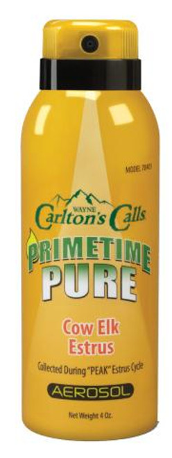 Primetime Pure Cow Elk Estrus Aerosol Spray 70403