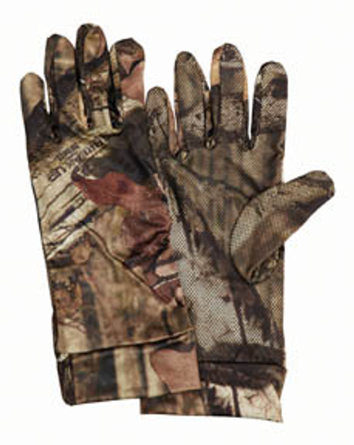 Scent-A-Way® Silver Spandex Unlined Gloves-Mossy Oak® Break-Up Infinity™ 07135