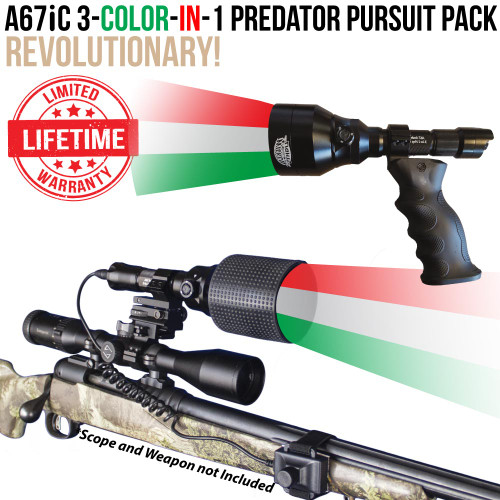 A67iC 3-Color-In-1 Predator Pursuit Pack with two lights Thumbnail