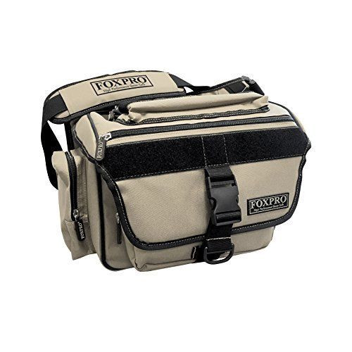 FOXPRO Large TAN Electronic Caller Carry Bag