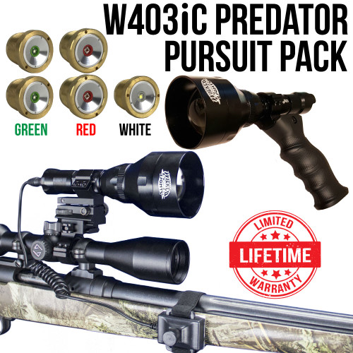 Wicked Lights™ W403 IC Intensity Control Scan & Kill™ Light Predator Pursuit Signature Series Pack