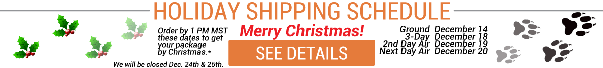 Click to see our 2018 Christmas Shipping Schedule