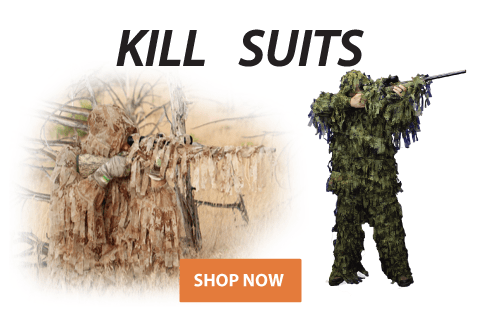 Click to See Our Selection of Kill Suits!