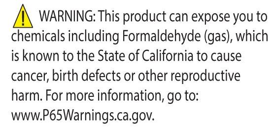 01adb61f1aff7f Attention California Residents: CA Prop 65 Formaldehyde Warning.