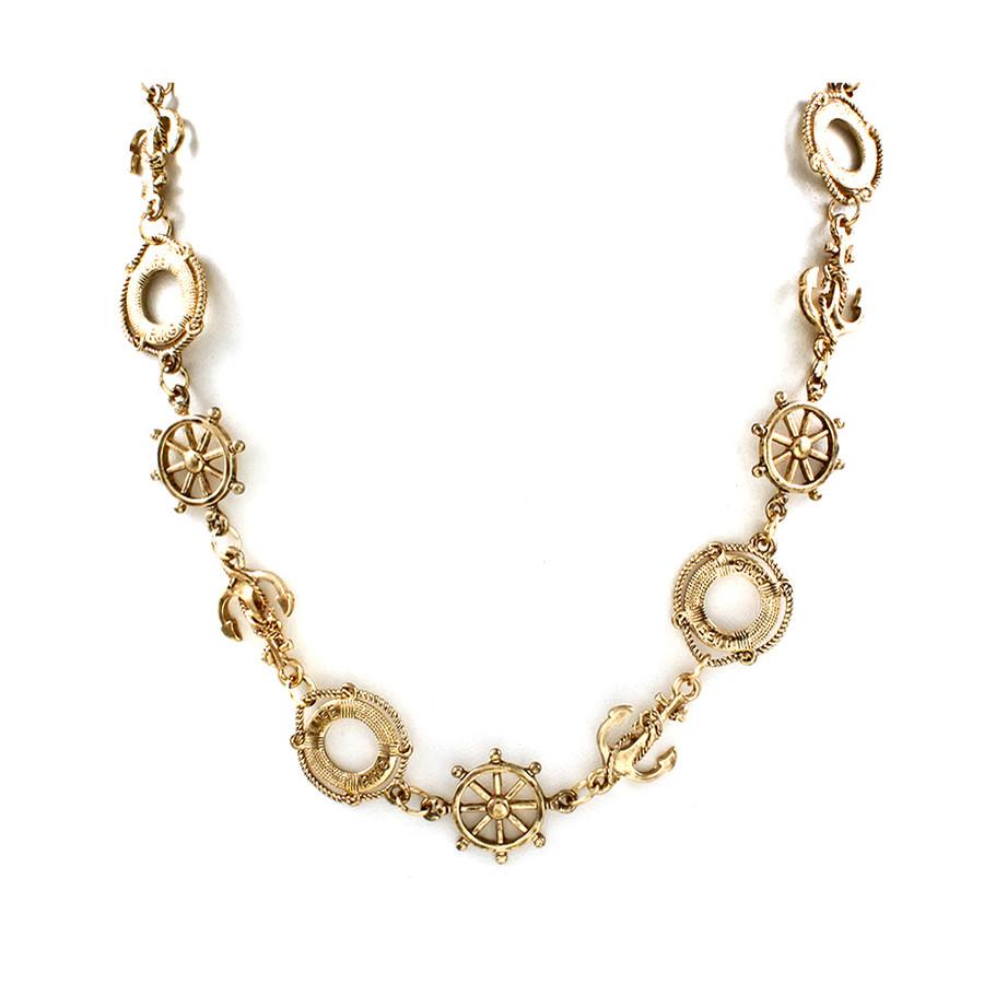 Golden Nautical Necklace