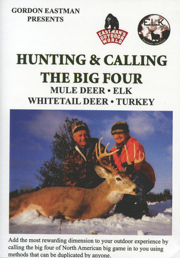 HUNTING & CALLING THE BIG FOUR DVD