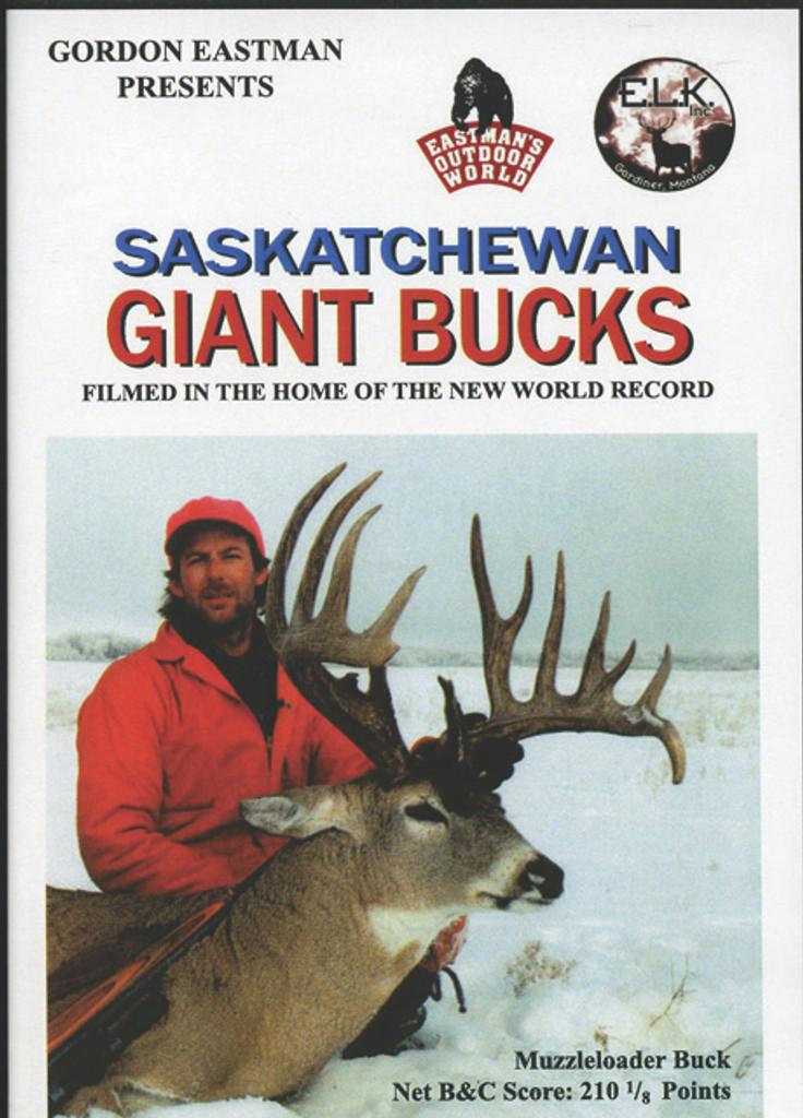 SASKATCHEWAN GIANT BUCKS DVD