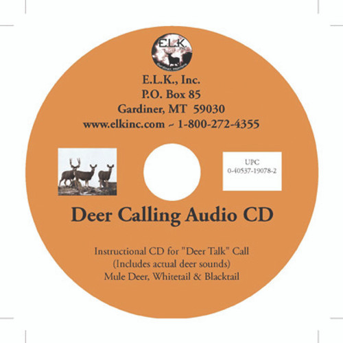 DEER CALLING INSTRUCTIONAL CD