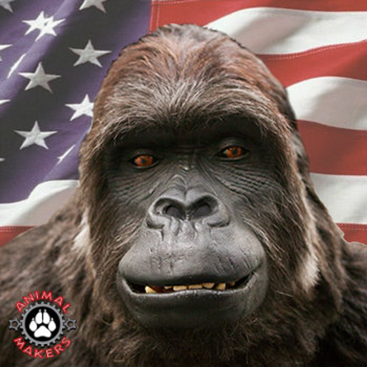 Amazing realistic gorilla costume that is built in the USA & Realistic Animatronic Hollywood Adult Gorilla Costume - Colossus