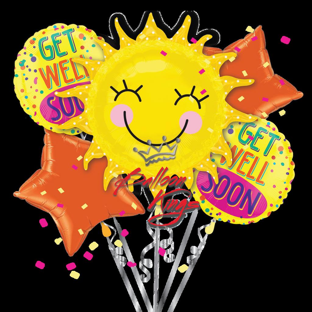 Get Well Sunshine Bouquet